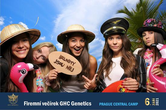 Firemní večírek GHC Genetics, Prague Central Camp