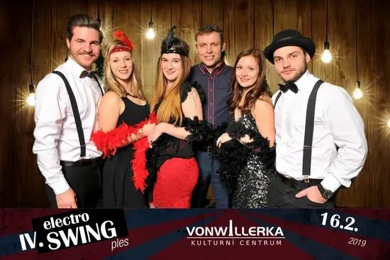 Galerie IV. Elektro Swing ples Vonwillerka