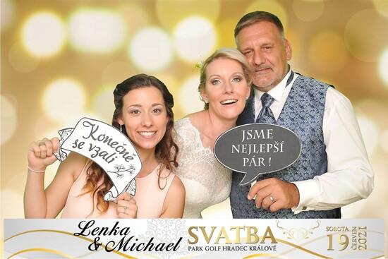 Svatba Lenka a Michael 2021