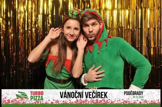 Galerie Vánoční večírek Turbo Pizza 2019