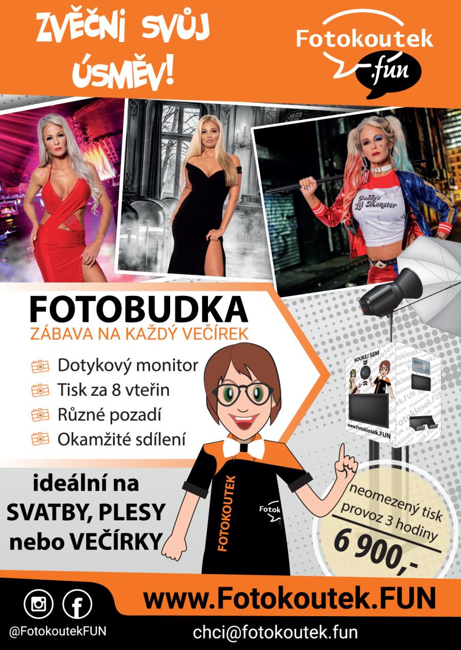 Fotokoutek, fotobudka leták