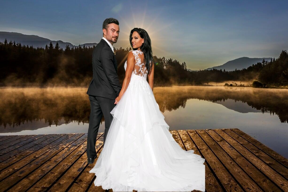 Svatební fotokoutek a pozadí: jak moc je důležité vybrat správně?