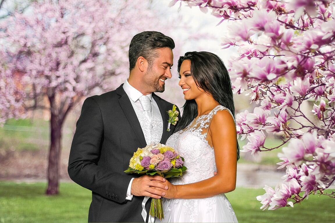 Fotokoutek na svatbu vás může přenést kamkoli