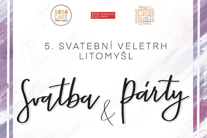 Svatební veletrh v Litomyšli – přijďte se (nejen) na nás podívat!