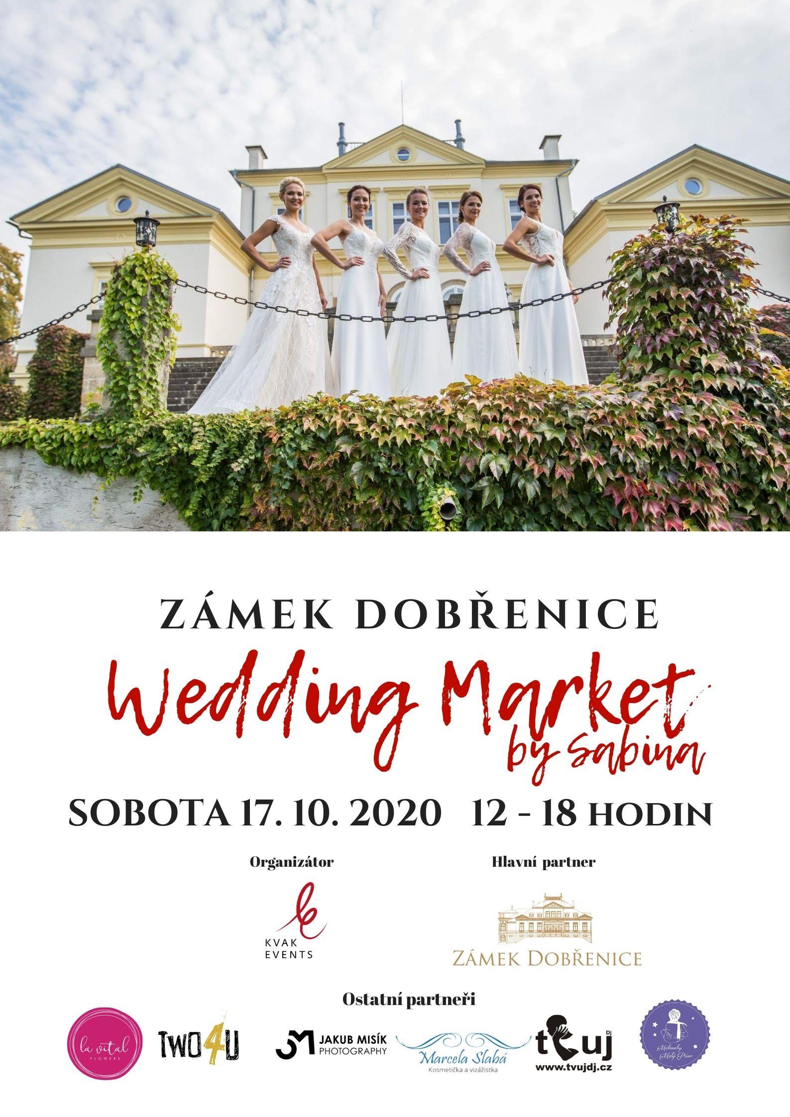 Wedding Market by Sabina 2020 - leták